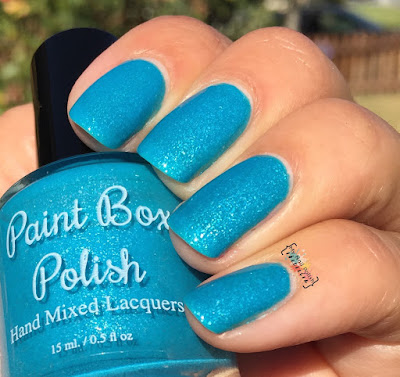 Paint Box Polish Blue Above The Bay