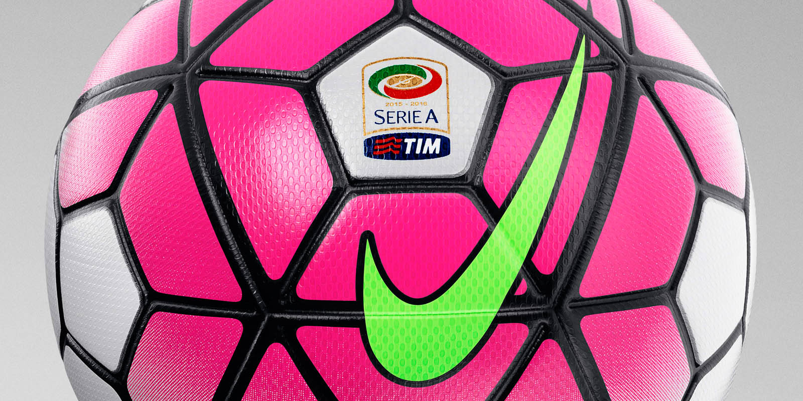 White Pink Nike Ordem Serie A 15 16 Ball Released Footy