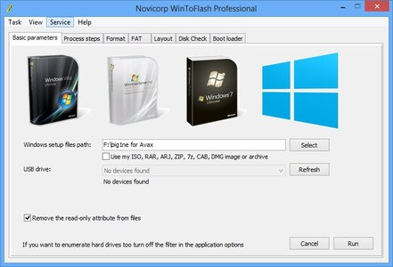 download WinToFlash Professional 0.9.0038 RC2 portable software