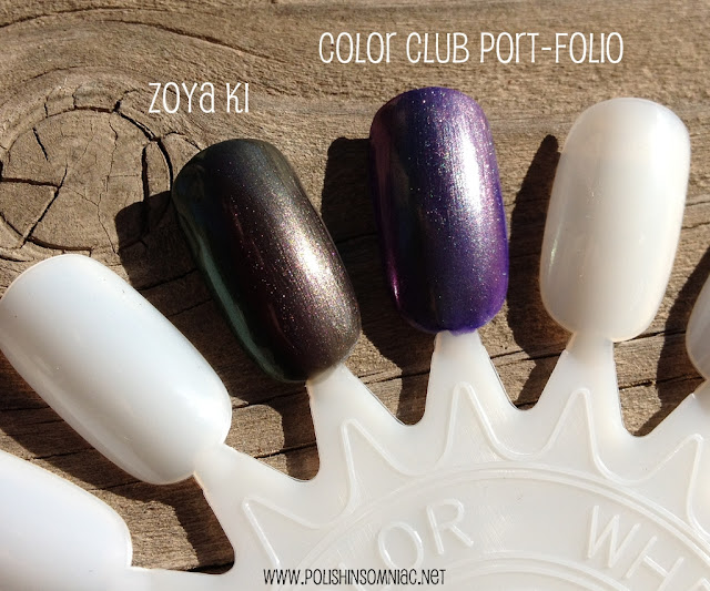 Color Club Port-Folio vs. Zoya Ki
