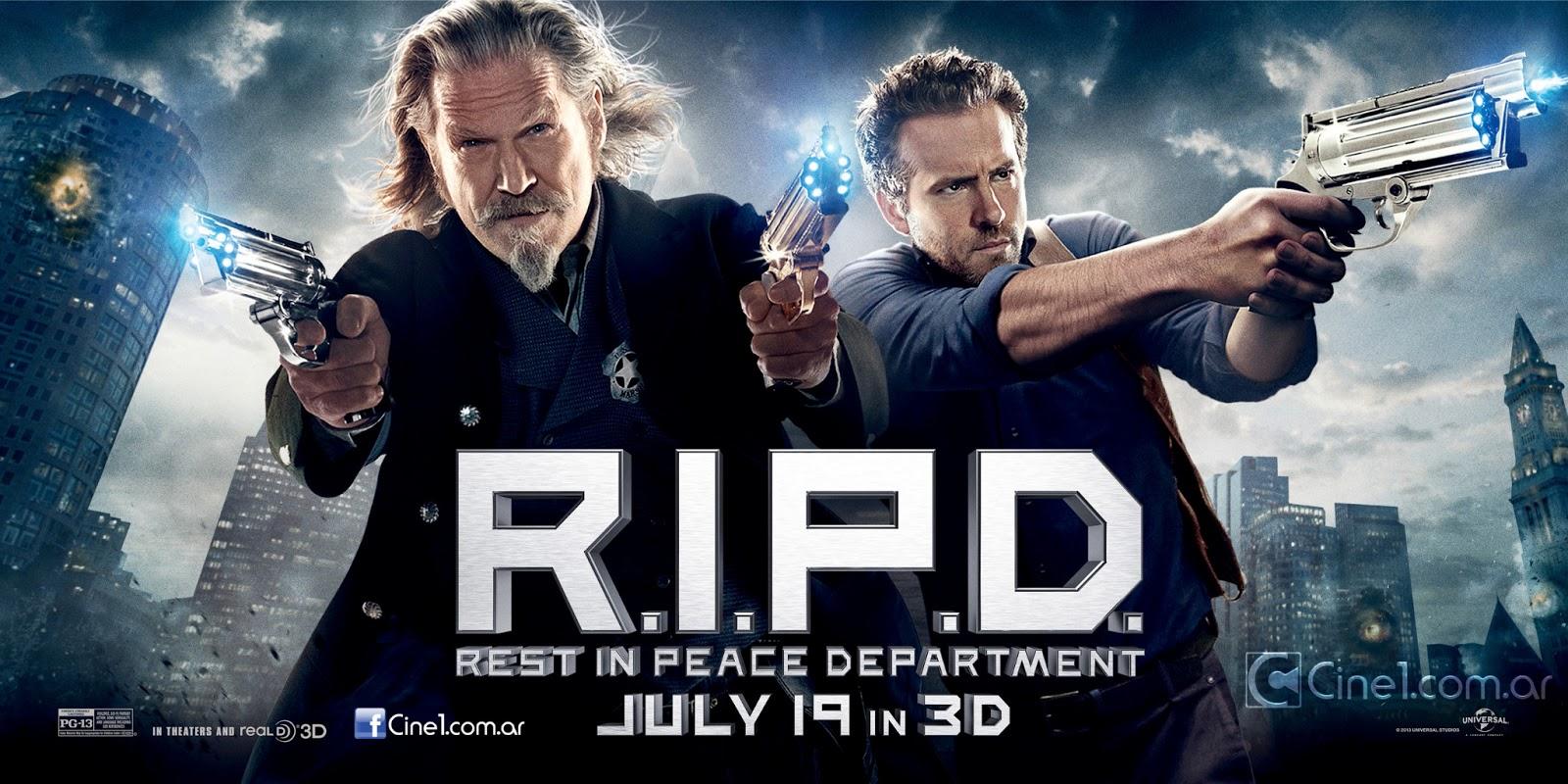 Exclusivos nuevos banners de R.I.P.D.