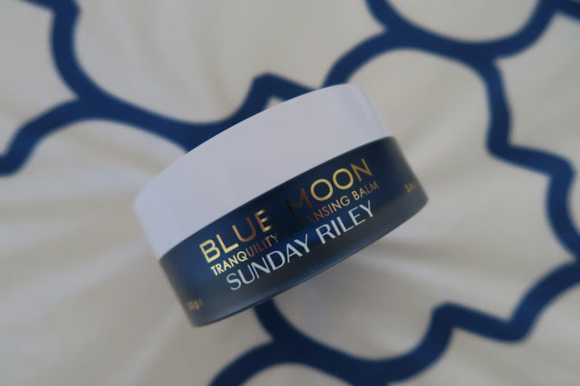 Sunday Riley Blue Moon Tranquility Cleansing Balm by What Laura did Next