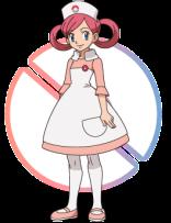 Curar Pokémons XY-Nurse-Joy