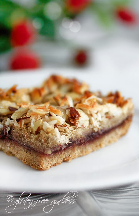 Free Raspberry Coconut-Almond Bars