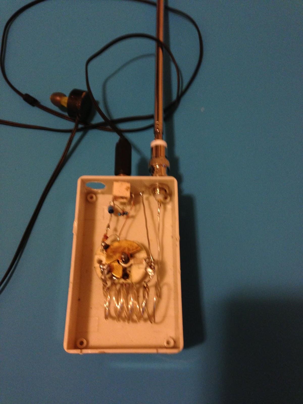 Fm Crystal Radio Schematic Trusted Wiring Diagram Simple Shortwave Transmitter Eeweb Community Billys Diy Dream Shop Pirate