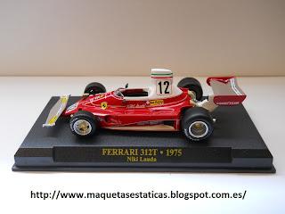 Ferrari 312T F1 of Niki Lauda (1975)