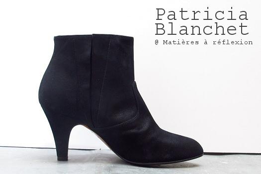 Bottines Patricia Blanchet Deborah glitter noir