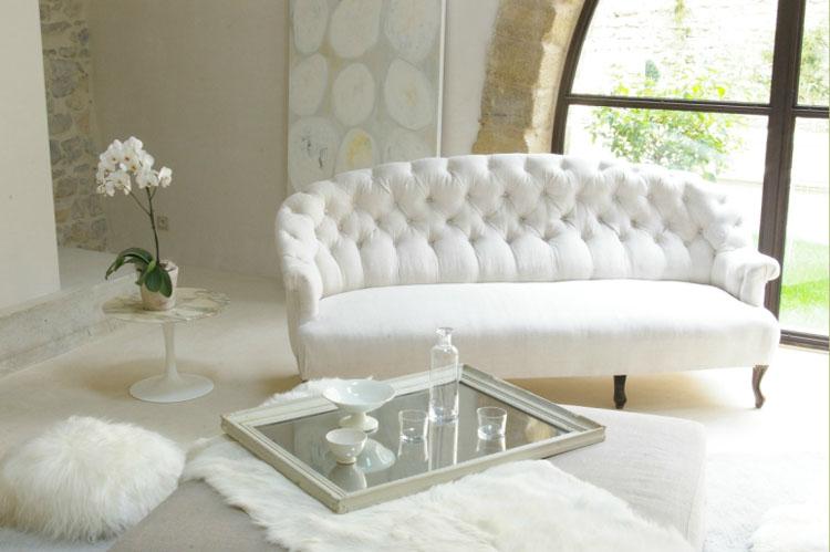 Pincel magia arte decora o sala e sof for Sofa estilo romantico
