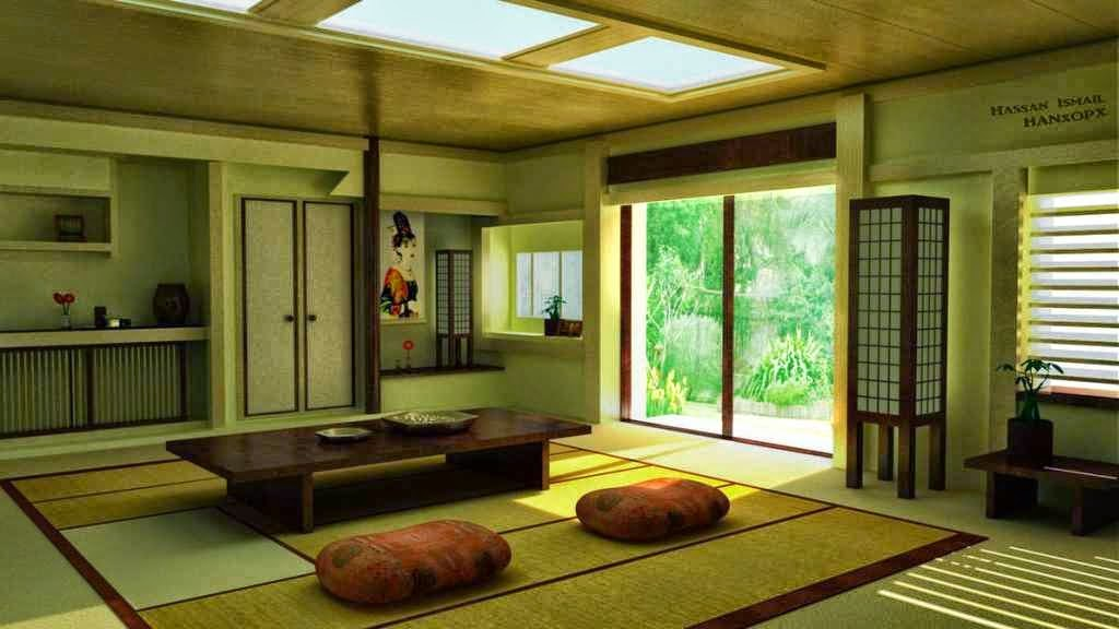 model rumah minimalis Gaya Jepang