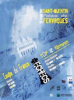L'affiche officielle de la Fédération Française des Échecs