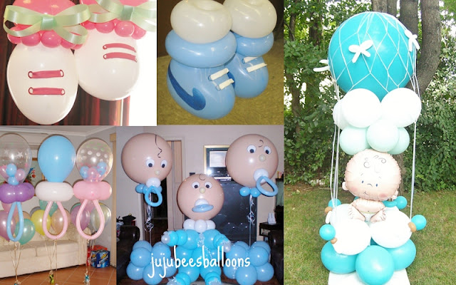 Baby Shower and Baptism Balloon Decors