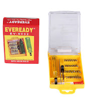 Buy Eveready 33 in 1 Screw Driver Set with Neon Bulb at Rs. 149