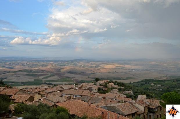 Montalcino, vista dalla Rocca