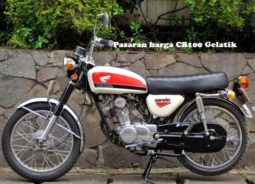 Harga dan Spesifikasi Motor Honda Super Sport CB 100 Gelatik