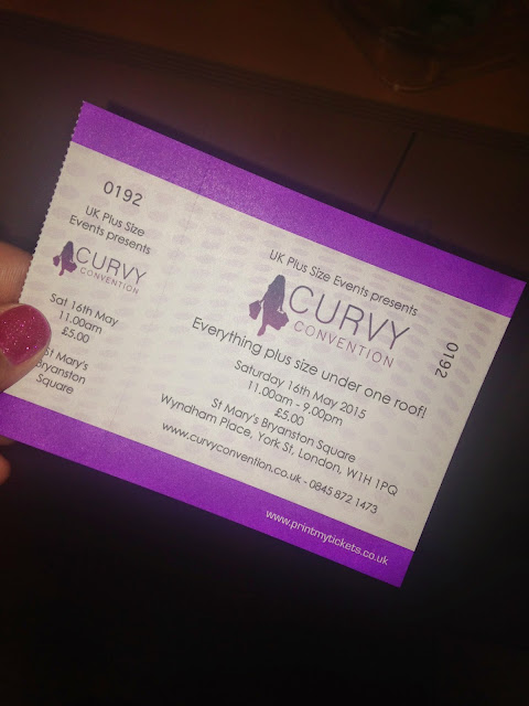 Curvy Convention Ticket