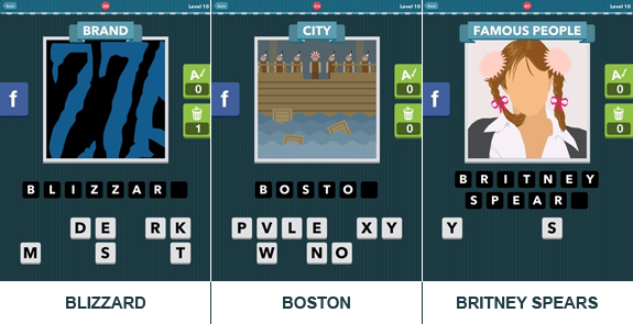 Icomania: cheats, hints, oplossingen en antwoorden - Level 10