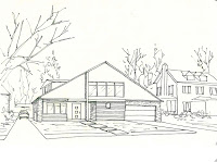 Sketsa akan menjadi suatu tuntunan dari gagasan suatu pemilik rumah