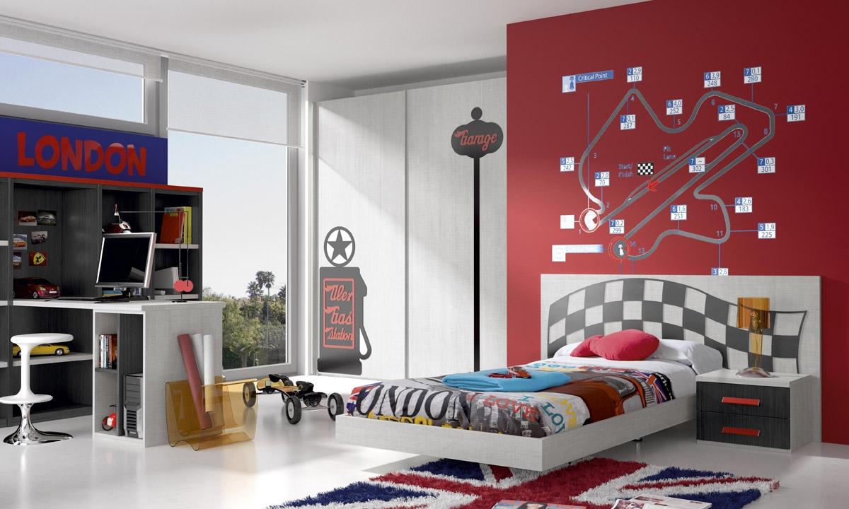 Informaci n de mobiliario opini n de producto mueble for Cuartos decorados rayo mcqueen