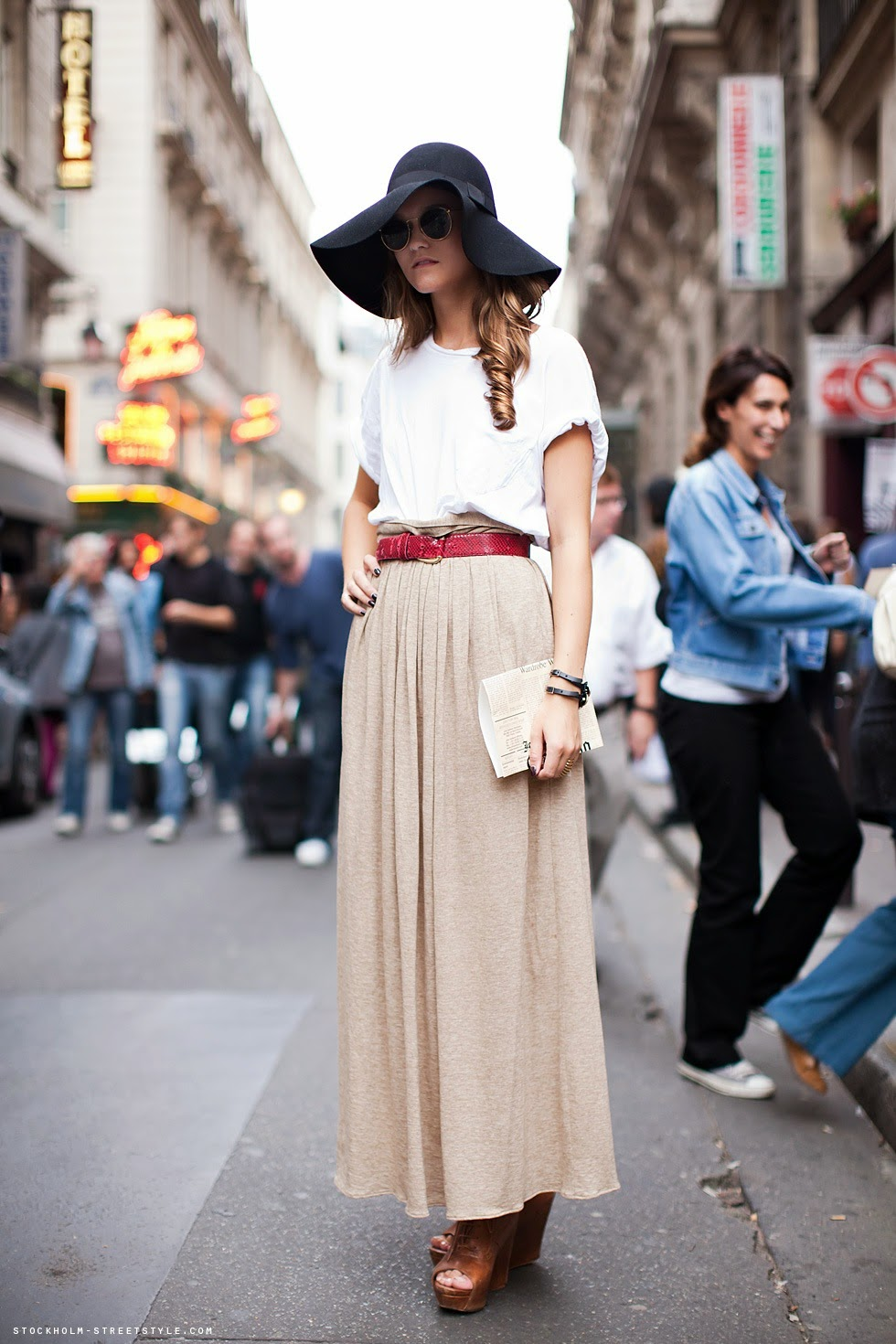 gonnelunghe abbinamenti gonne lunghe che arrivano alle caviglie come indossare le gonne lunghe abbinamenti gonne lunghe how to wear long skirt fashion blogger italiane colorblock by felym blog di moda di mariafelicia magno fashion blogger italiane milano mariafelicia magno fashion blogger di colorblock by felym come abbinare la gonna lunga gonne lunghe di tendenza per la primavera estate 2014