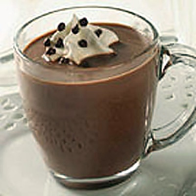 Snow-Capped Cinnamon Hot Cocoa