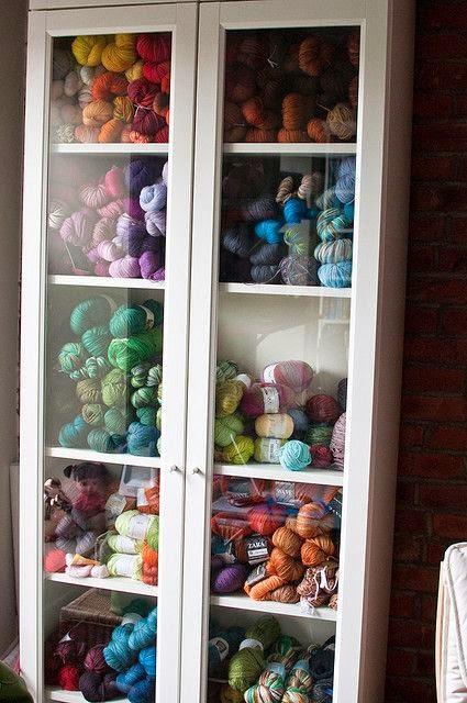 Anacapa Knits: Organize It - Yarn edition!