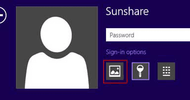 how to create password for laptop windows 8