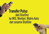 Cara Transfer Pulsa Indosat IM3, Mentari, dan Matrix Auto