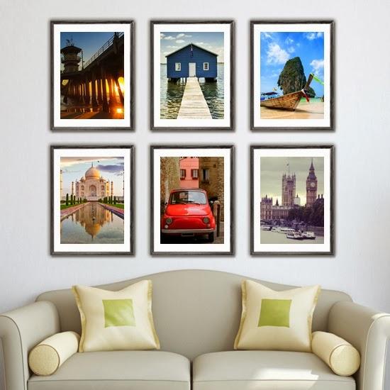 Wall Decorating Ideas Over Sofa : Kad nlar aras nda eviniz ?in galeri duvar ?nerileri