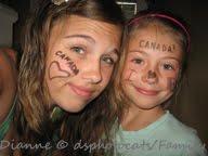 Tesa & Jenna On Canada Day/2012