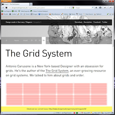 Screen shot of http://www.designmadeingermany.de/magazin/5/the-grid-system/.