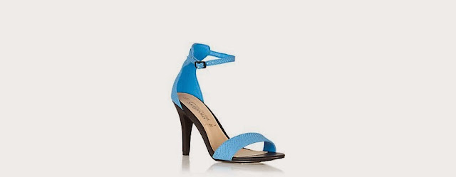 new look blue sandals