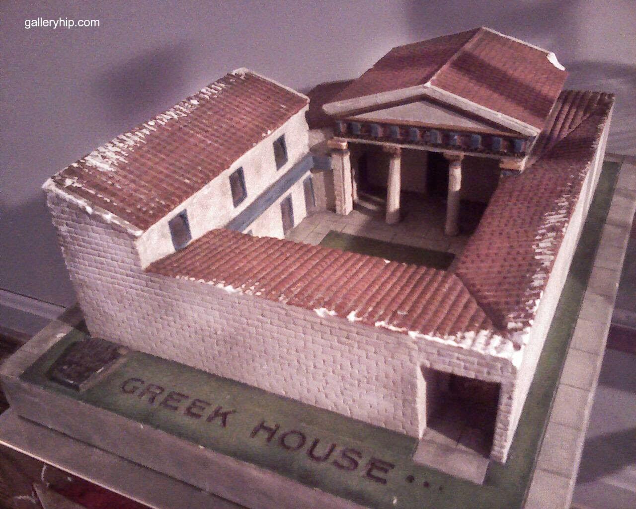 Arquitectura De Casas La Casa En La Antigua Grecia: casas griegas antiguas