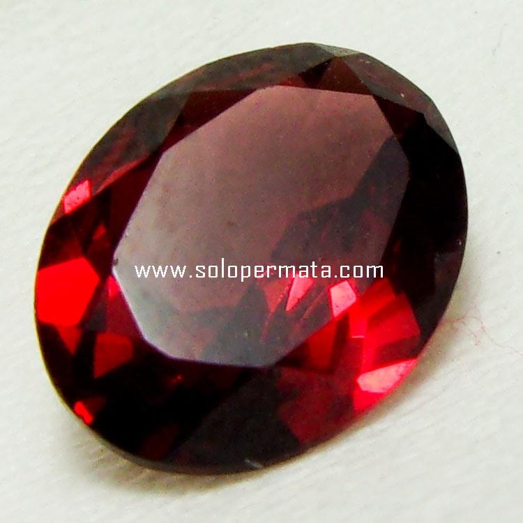 Batu Permata Almandine Garnet - Kode 06A01