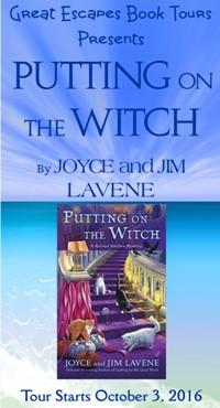 Joyce & Jim Lavene on tour