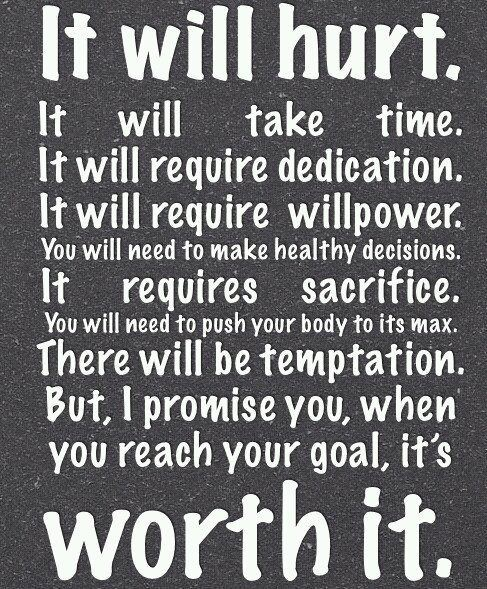 Fitness MOTIVATIONAL quote ~¤