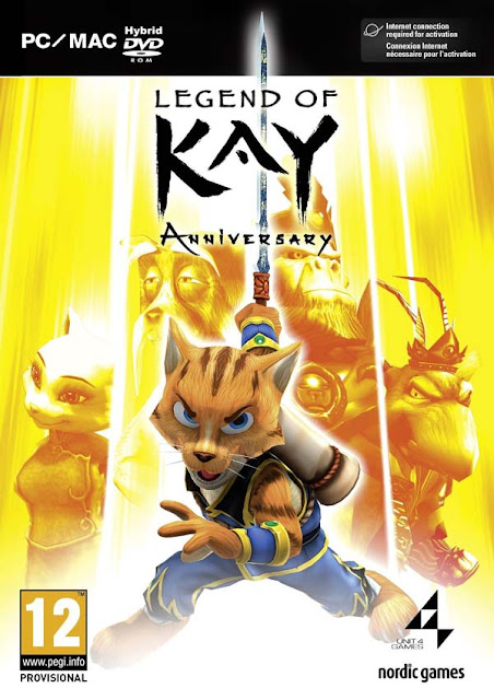 Legend Of Kay Anniversary Download Cover Free Game