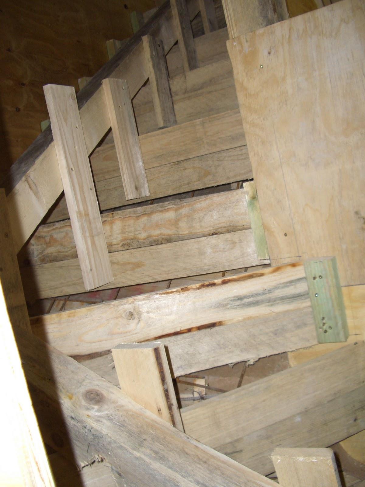 mein weg zum maurer treppenschalung mit einem 14 schwung. Black Bedroom Furniture Sets. Home Design Ideas