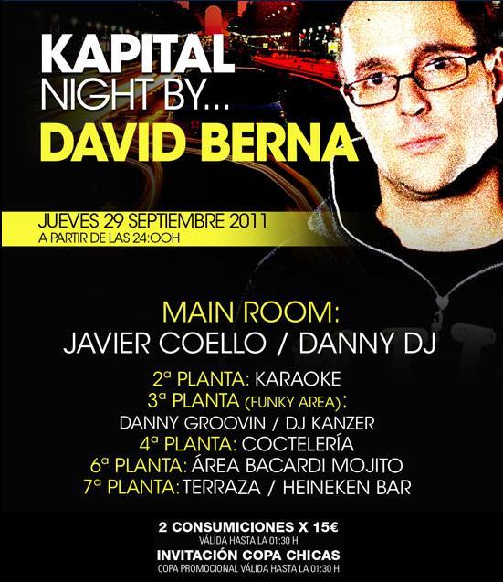 Madrid noche jueves 29 09 kapital for Kapital jueves gratis