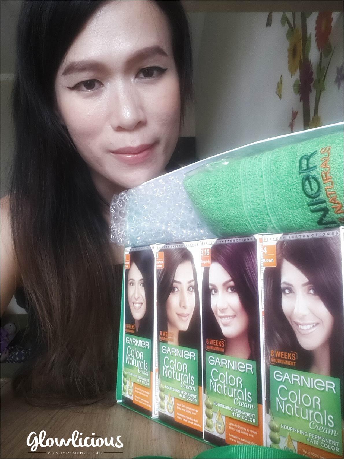 English Version Garnier Color Naturals Cream Nourishing Permanent