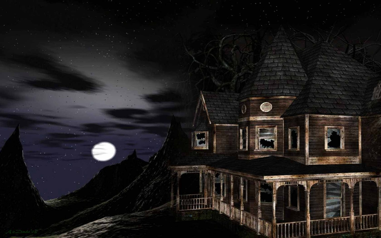 Haunted house hd wallpapers w a l l p a p e r2014 for House photos hd
