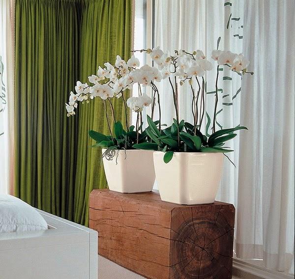 Decoração com plantas artificiais 2