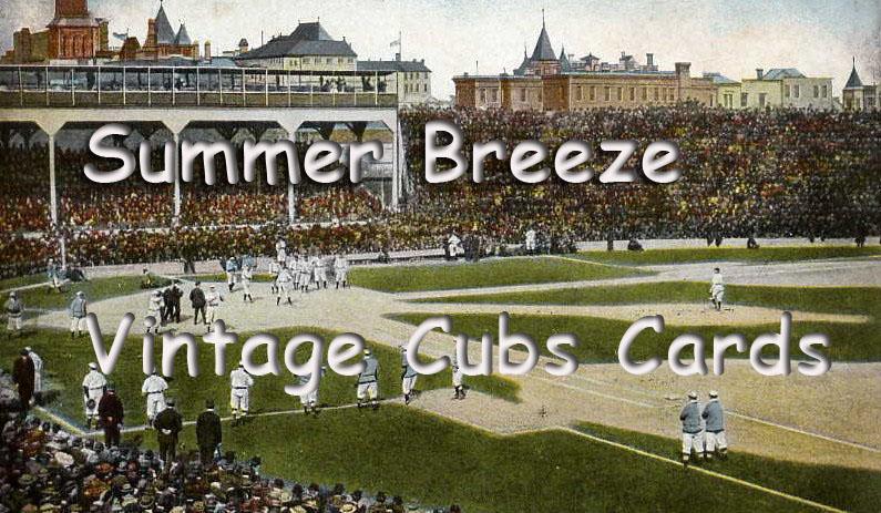 Vintage Cubs Cards