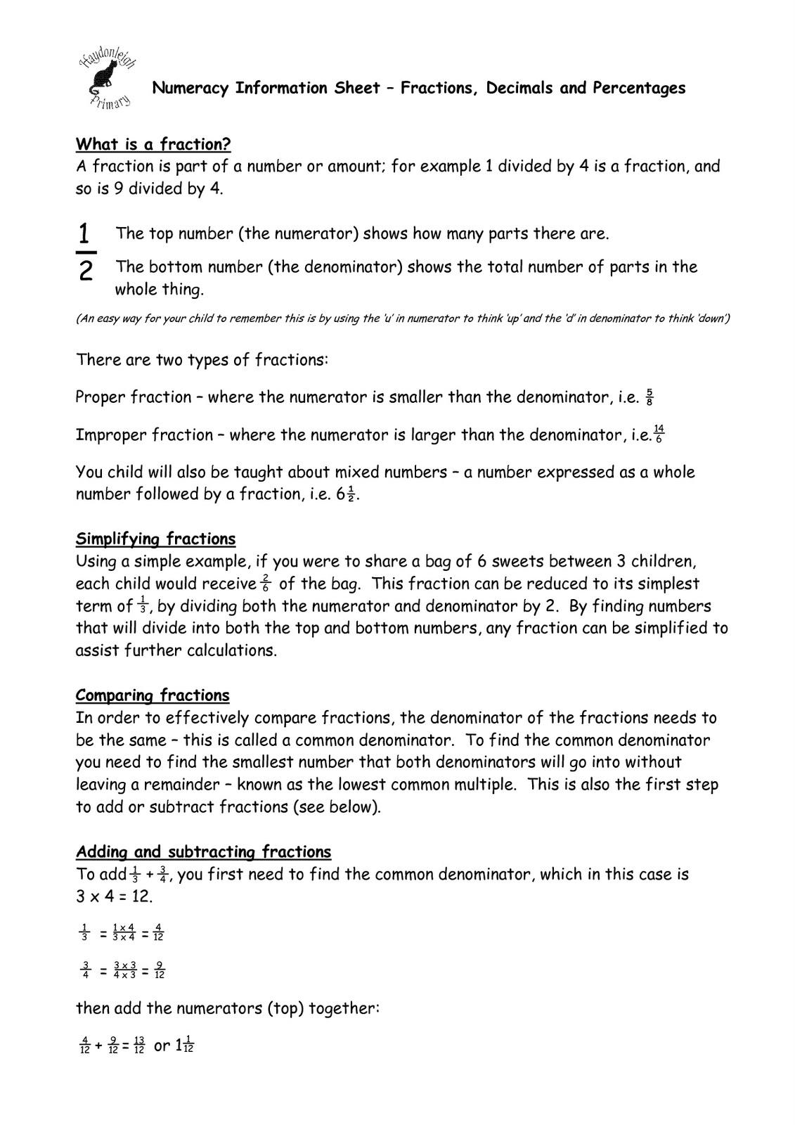 Worksheet Linking Fractions Decimals And Percentages Ks2 Worksheet  Fractions Decimals And Percentages Worksheets Ks2 Converting How