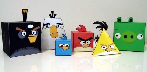 Crea tus propios Juguetes del Juego Angry Birds