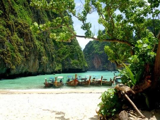 La Bahía Maya (Maya Bay).