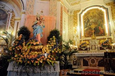 Positano my life a chiesa nuova si festeggia santa maria for Quando si festeggia santa ilaria