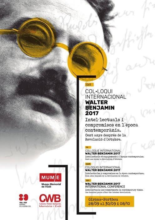 Col·loqui Internacional Walter Benjamin, 2017