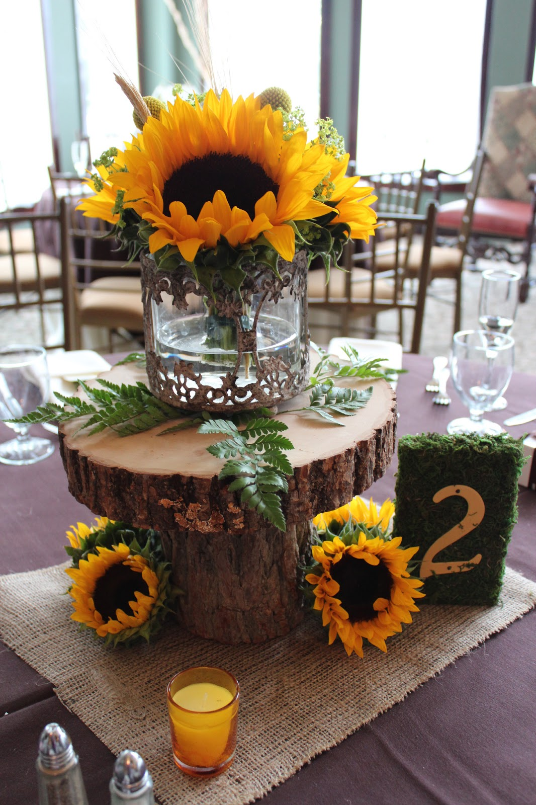 Savannah s garden kristin fall sunflower wedding at