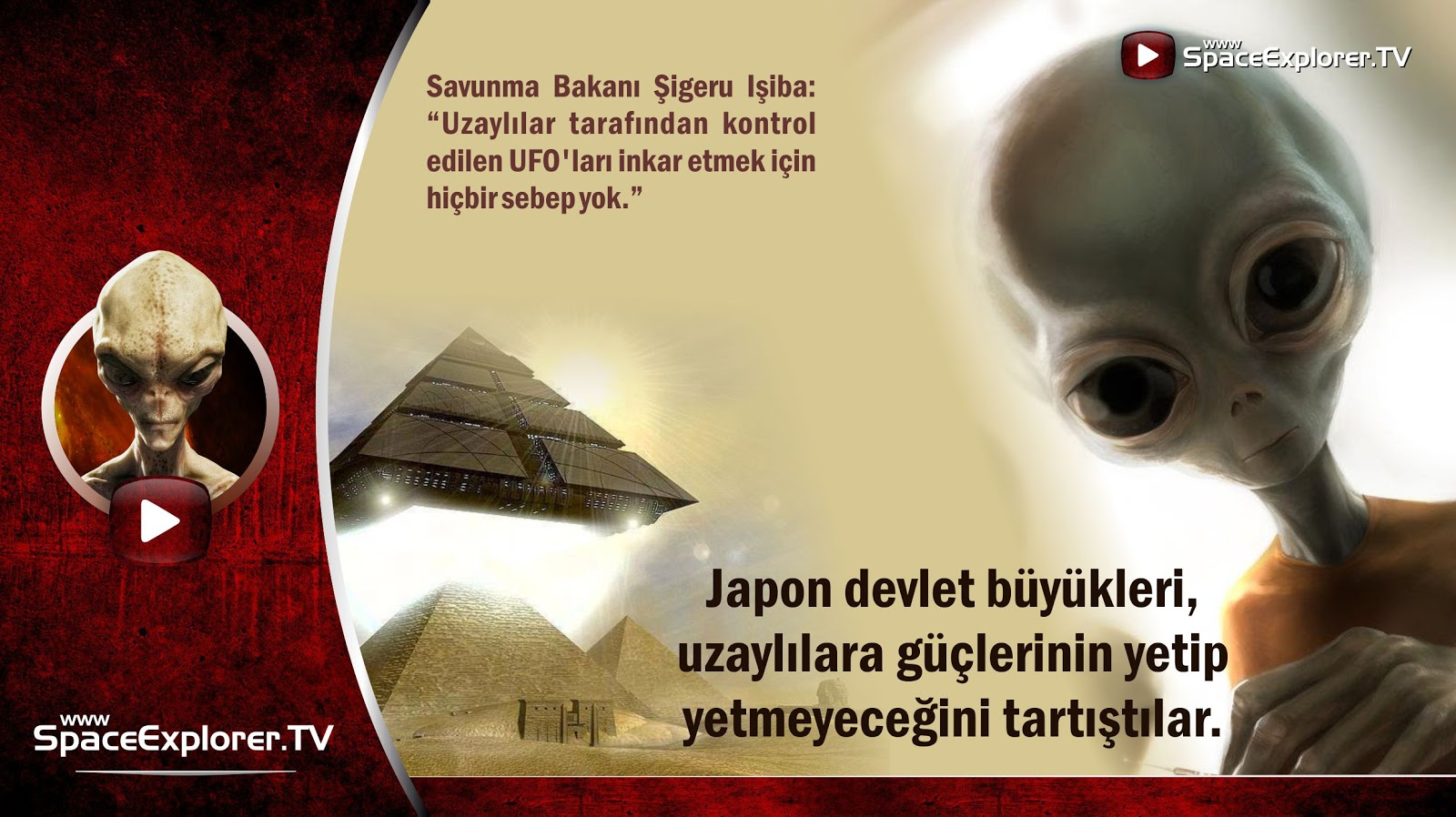 UFO, Uzaylılar, Japonya, Küçük tuhaf adamlar, Küçük yeşil adamlar, Tanımlanamayan uçan nesne, NASA neden gizliyor, Uzayda hayat var mı?, Evrende yalnız mıyız?,