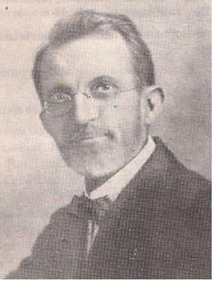 Primeiro reitor do Grambery, John McPhearson e
